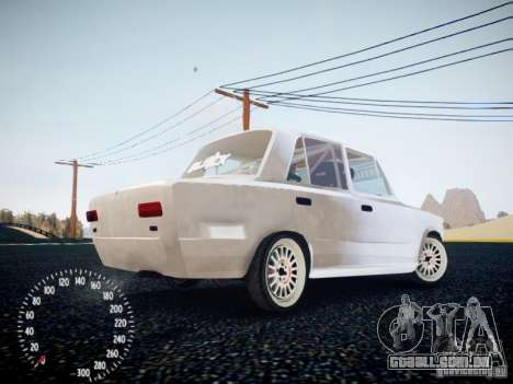 Vaz-2101 Drift Edition para GTA 4 vista direita
