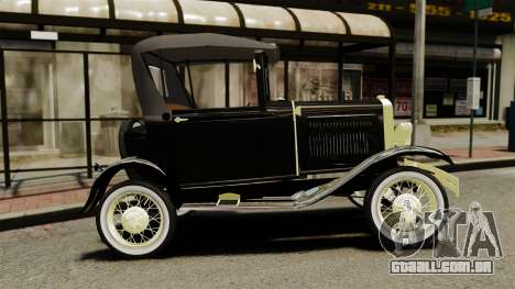 Ford Model T 1926 para GTA 4 esquerda vista