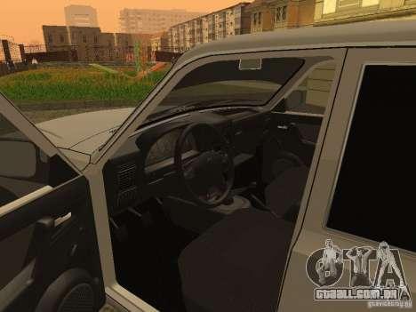 Volga GAZ 3110 para GTA San Andreas vista traseira