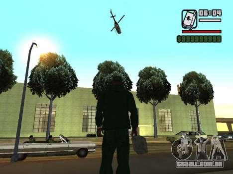 formato 12/24 horas para GTA San Andreas por diante tela