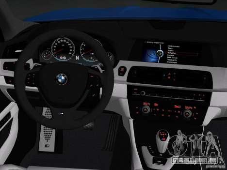 BMW M5 F10 2012 para o motor de GTA Vice City