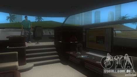 Barco para GTA Vice City vista traseira esquerda
