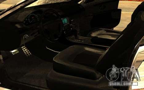 Maybach 62 para GTA San Andreas vista inferior