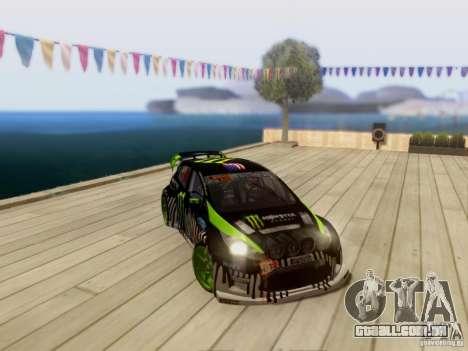 Ford Fiesta Gymkhana 3 para GTA San Andreas