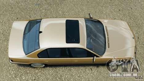 BMW 750iL E38 1998 para GTA 4 vista direita