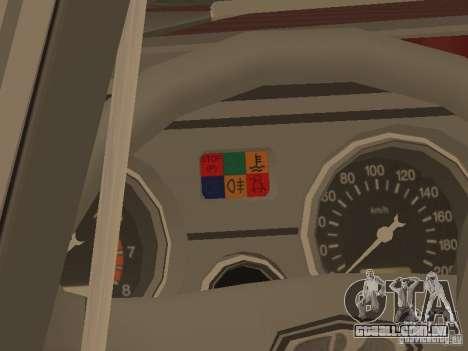 VAZ 2104, v. 2 para GTA San Andreas vista traseira