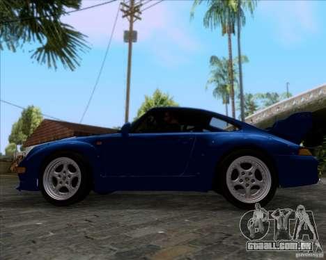 Porsche 911 GT2 RWB Dubai SIG EDTN 1995 para GTA San Andreas vista interior