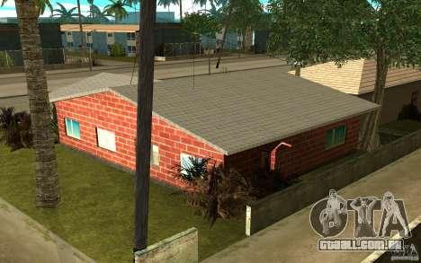 Novas texturas para casa Denis para GTA San Andreas terceira tela