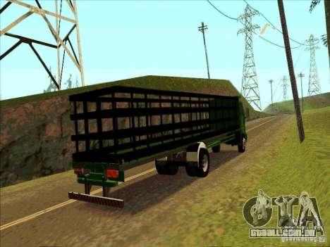 Ford Cargo para GTA San Andreas vista direita