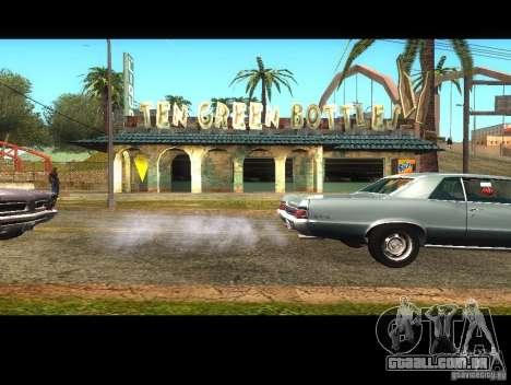 Negócios Cj v 1.0 para GTA San Andreas segunda tela