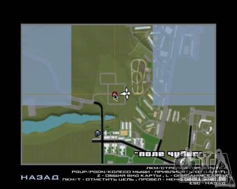 Novo campo de distrito dos sonhos para GTA San Andreas sétima tela