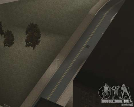 Novas texturas de estrada para GTA UNITED para GTA San Andreas sétima tela