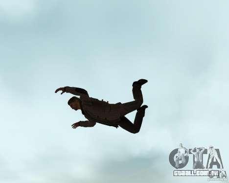 Alan Wake para GTA San Andreas por diante tela