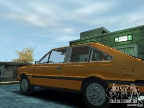 FSO Polonez 2.0X Coupe para GTA 4 esquerda vista