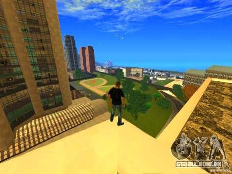 Global Parachute Mod para GTA San Andreas segunda tela