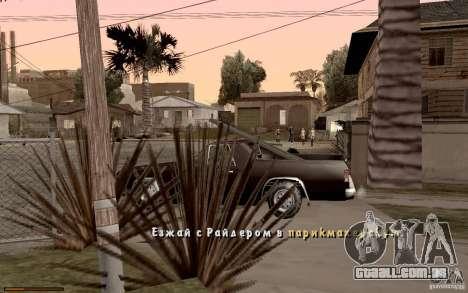 Nova fonte para GTA San Andreas oitavo tela