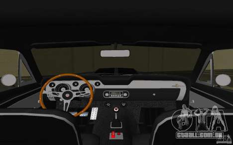 Shelby GT500 Eleanor para GTA Vice City vista lateral