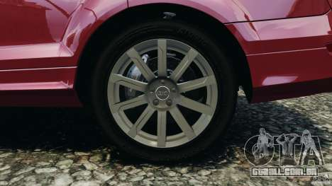Audi Q7 V12 TDI v1.1 para GTA 4 vista superior