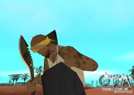 Khukuri para GTA San Andreas segunda tela