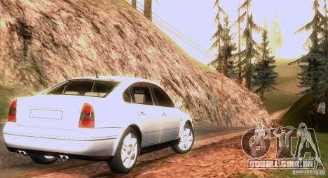 Volkswagen Passat B5 para o motor de GTA San Andreas