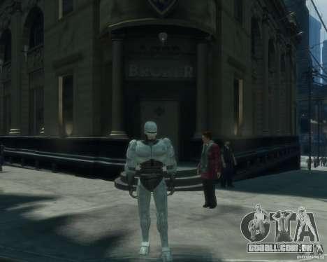 Pele Robokopa para GTA 4
