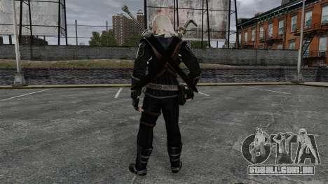 Geralt de Rivia v8 para GTA 4 terceira tela