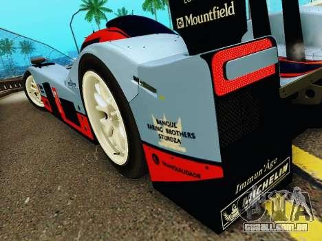 Aston Martin DBR1 Lola 007 para GTA San Andreas vista inferior