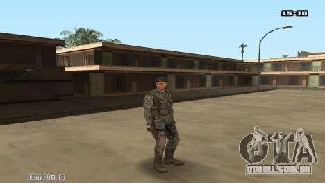 Army Skin Pack para GTA San Andreas