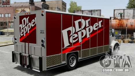 O novo anúncio para o caminhão de Benson para GTA 4 segundo screenshot