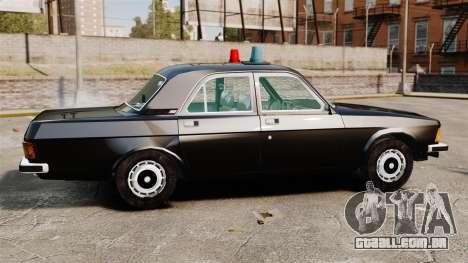 FBI Gaz-3102 para GTA 4 esquerda vista