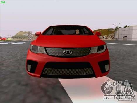 Kia Cerato Coupe 2011 para GTA San Andreas interior
