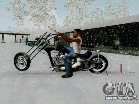 Harley para GTA San Andreas esquerda vista