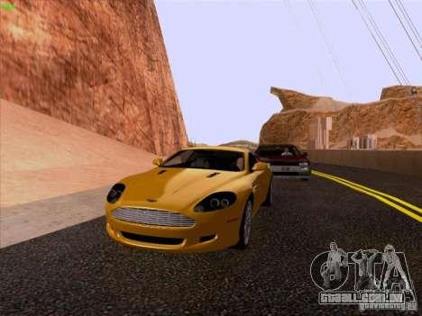 Aston Martin DB9 para GTA San Andreas vista direita