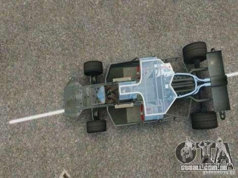 Villain The Fast and the Furious 6 para GTA 4 vista direita