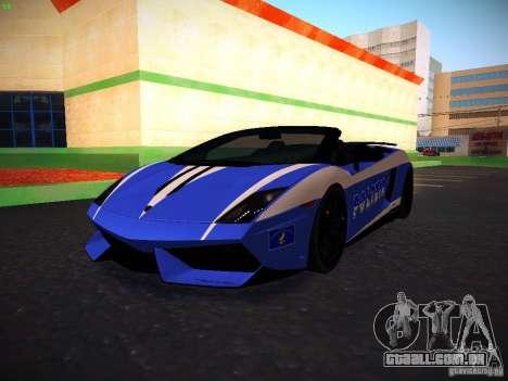 Lamborghini Gallardo LP570-4 Spyder Performante para GTA San Andreas