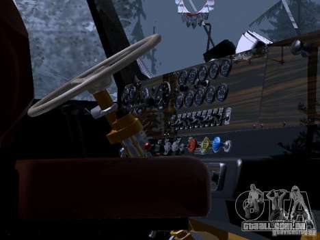 RTS 420 Šatalka para GTA San Andreas vista interior