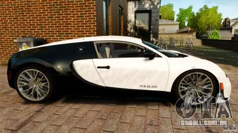 Bugatti Veyron 16.4 Super Sport 2011 [EPM] para GTA 4 esquerda vista