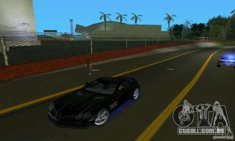 Mercedes-Benz SLR McLaren 722 Black Revel para GTA Vice City