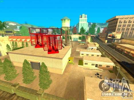 New Studio in LS para GTA San Andreas segunda tela
