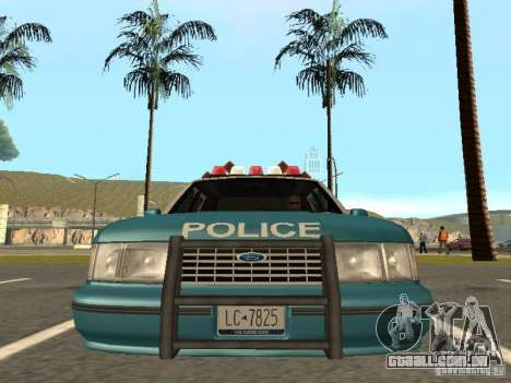 HD Police from GTA 3 para GTA San Andreas vista traseira
