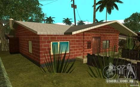 Novas texturas para casa Denis para GTA San Andreas segunda tela
