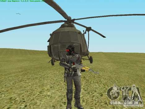 MTV MI-8 para GTA San Andreas vista interior