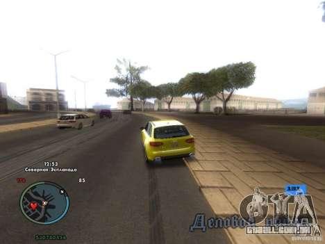 Velocímetro eletrônico para GTA San Andreas segunda tela