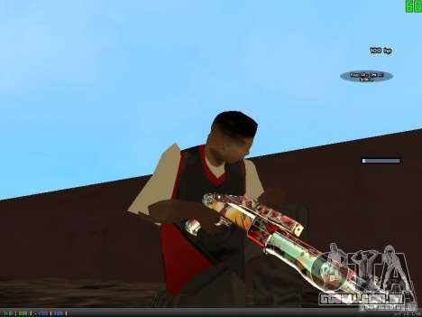 Graffiti Gun Pack para GTA San Andreas sexta tela