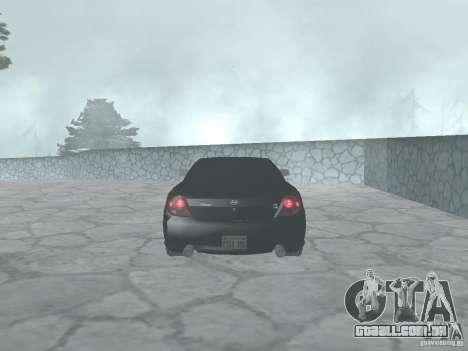 Hyundai Tiburon GT para GTA San Andreas vista direita