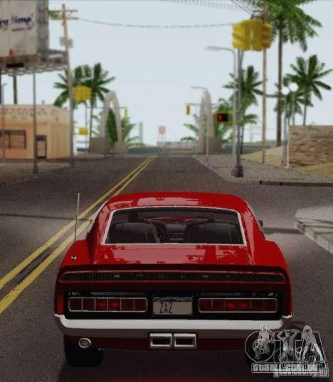Shelby GT500 428 Cobra Jet 1969 para GTA San Andreas vista direita