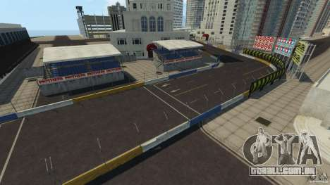 Long Beach Circuit [Beta] para GTA 4 oitavo tela