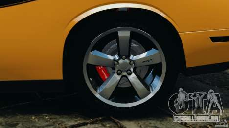Dodge Challenger SRT8 392 2012 [EPM] para GTA 4 interior