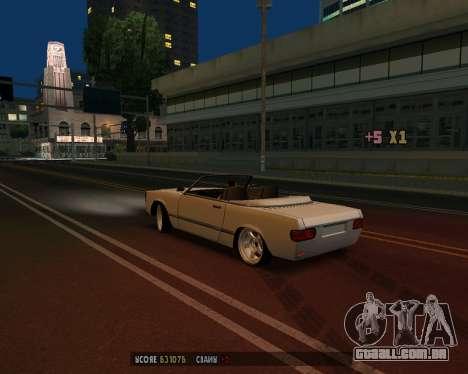 Feltzer v1.0 para GTA San Andreas vista traseira