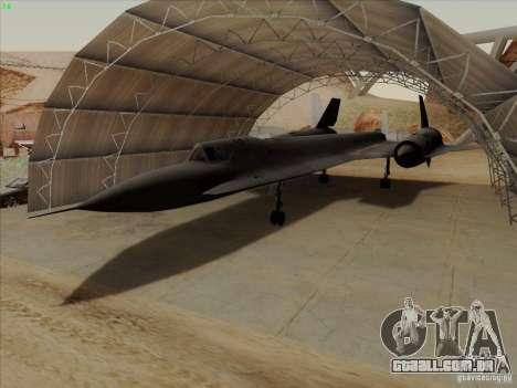 YF-12A para GTA San Andreas
